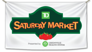 Greenville Downtown Saturday Market @ Main Street at McBee Avenue