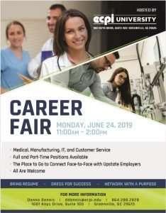 Career Fair @ ECPI University | Greenville | South Carolina | United States