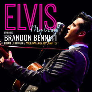 Elvis: Starring Brandon Bennet From Chicago's Million Dollar Quartet @ Centre Stage | Greenville | South Carolina | United States